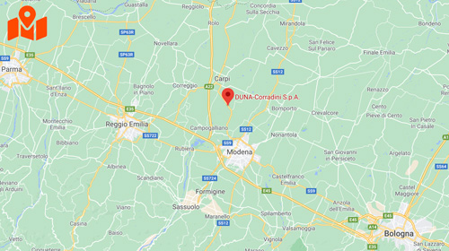 Mappa-Italia - Duna Corradini